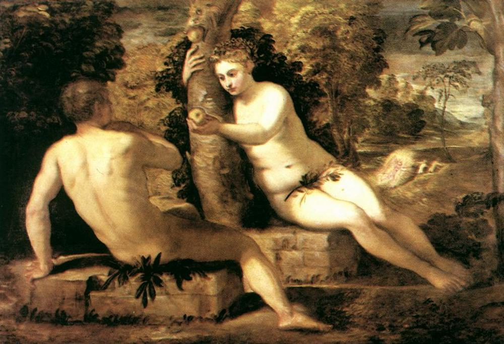 Imagem Tintoretto-Jacopo-Comin-Adam-and-Eve.jpg